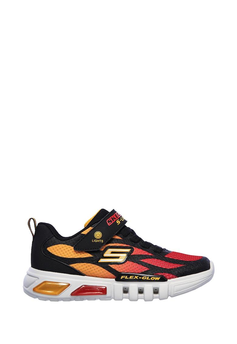 Pantofi sport cu lumini LED Flex-Glow-Dezlom Skechers imagine 2021