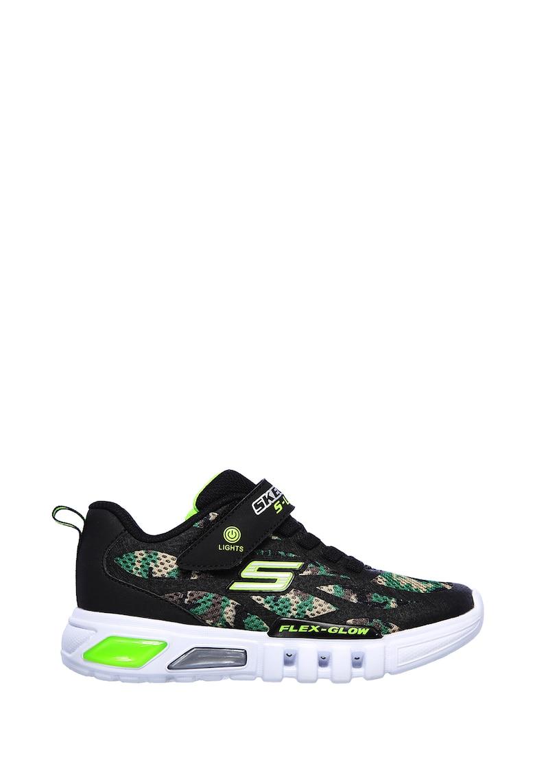 Pantofi sport cu lumini LED Flex-Glow-Rondler imagine