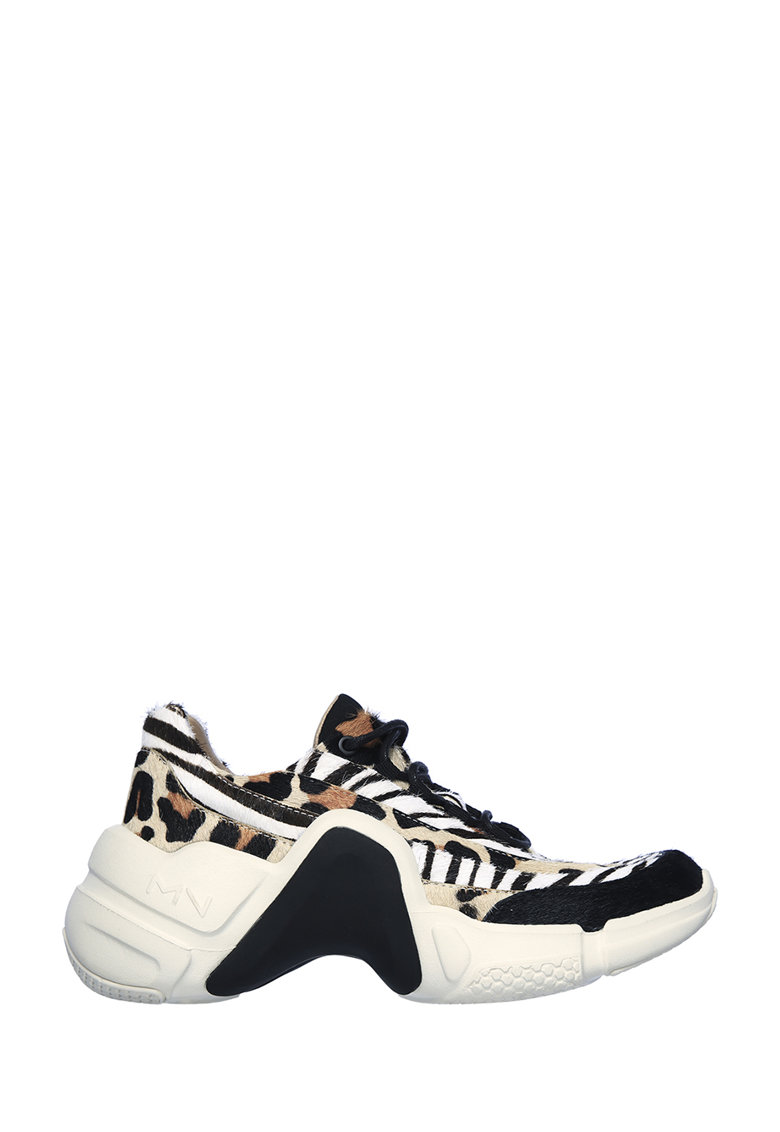 Pantofi sport de piele cu par scurt Neo Block Mix-Up