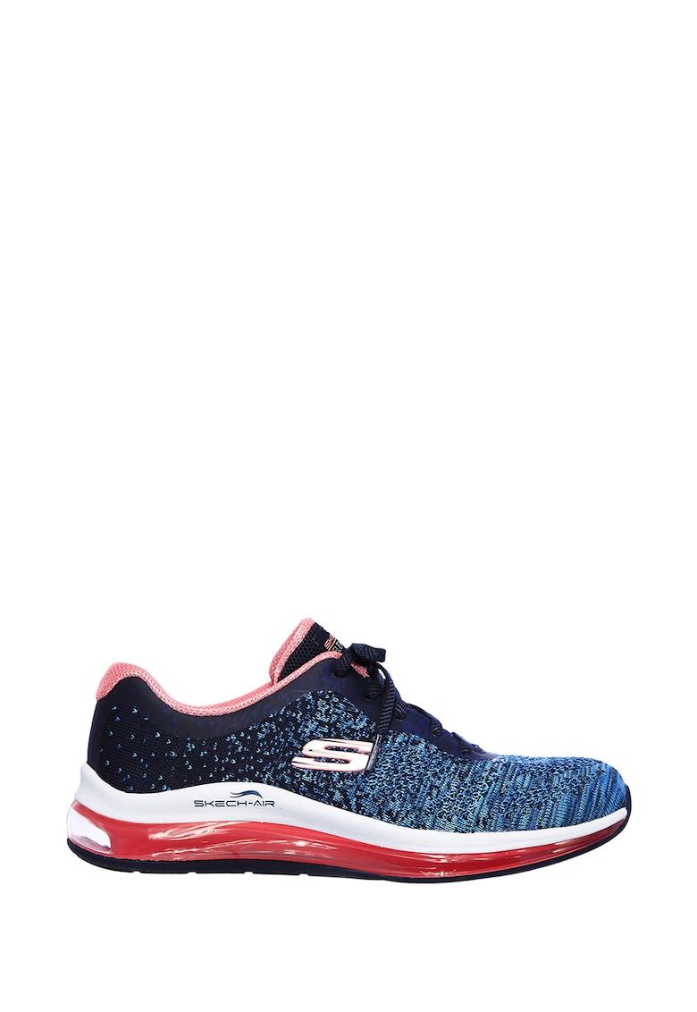 Pantofi sport cu aspect tricotat Skech-Air Element 2.0 - Dance