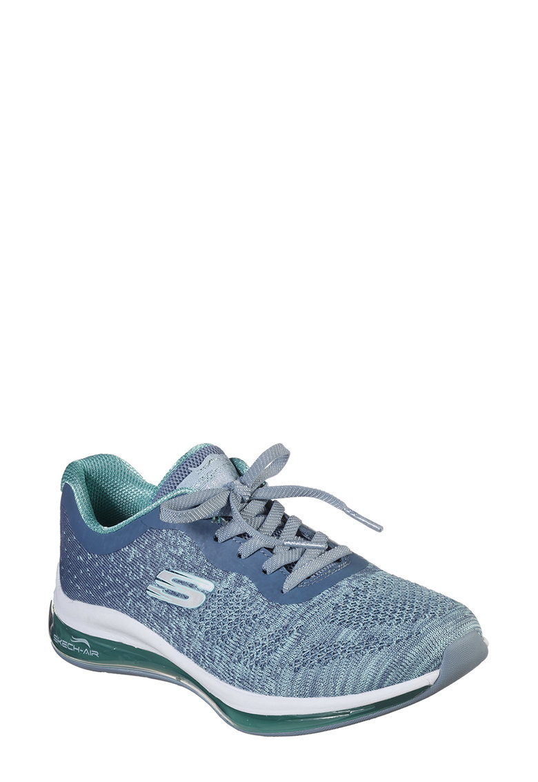 Pantofi sport cu aspect tricotat Skech-Air Element 2.0 - Dance imagine