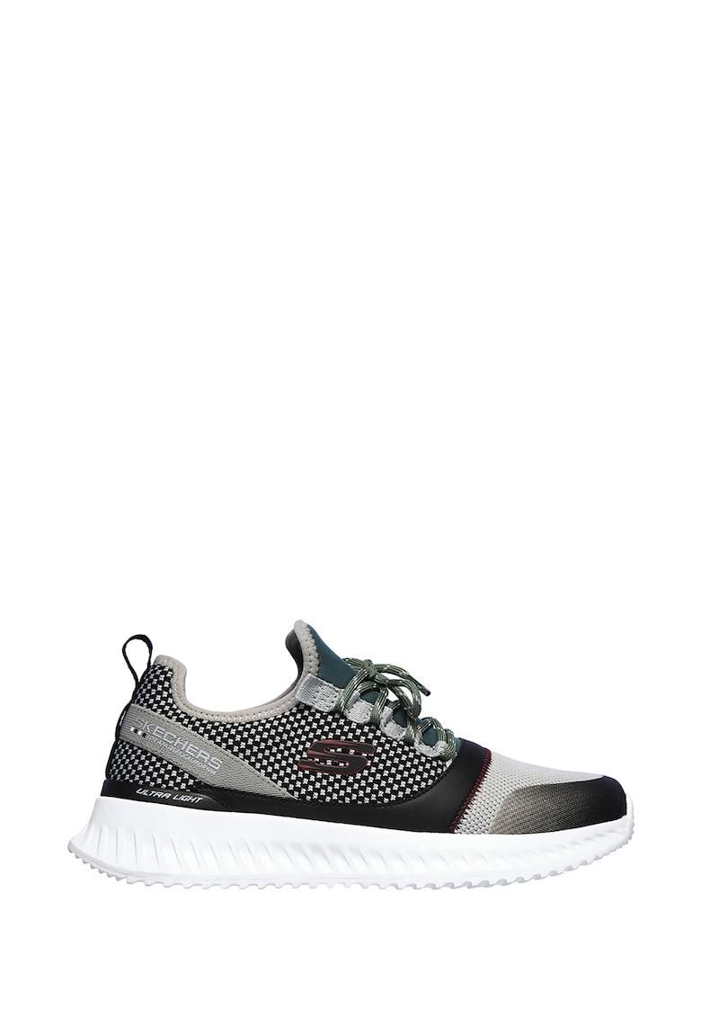Pantofi sport cu insertii gingham Matera 2.0 - Belloq