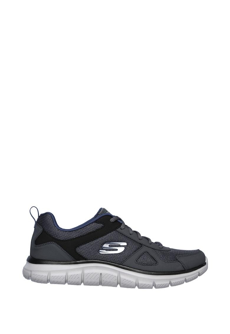 Pantofi sport cu insertii de piele Track imagine