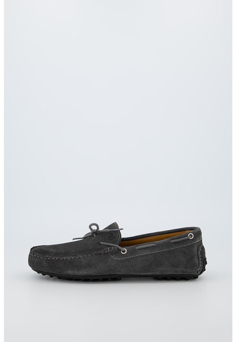 Pantofi loafer de piele intoarsa Driver imagine fashiondays.ro 2021