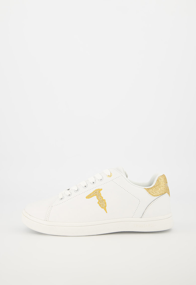 Pantofi sport din piele cu detalii din material sintetic fashiondays.ro