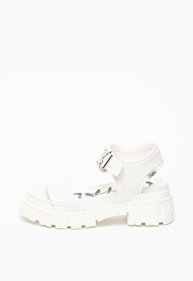Sandale de piele ecologica - cu aspect masiv Jojo
