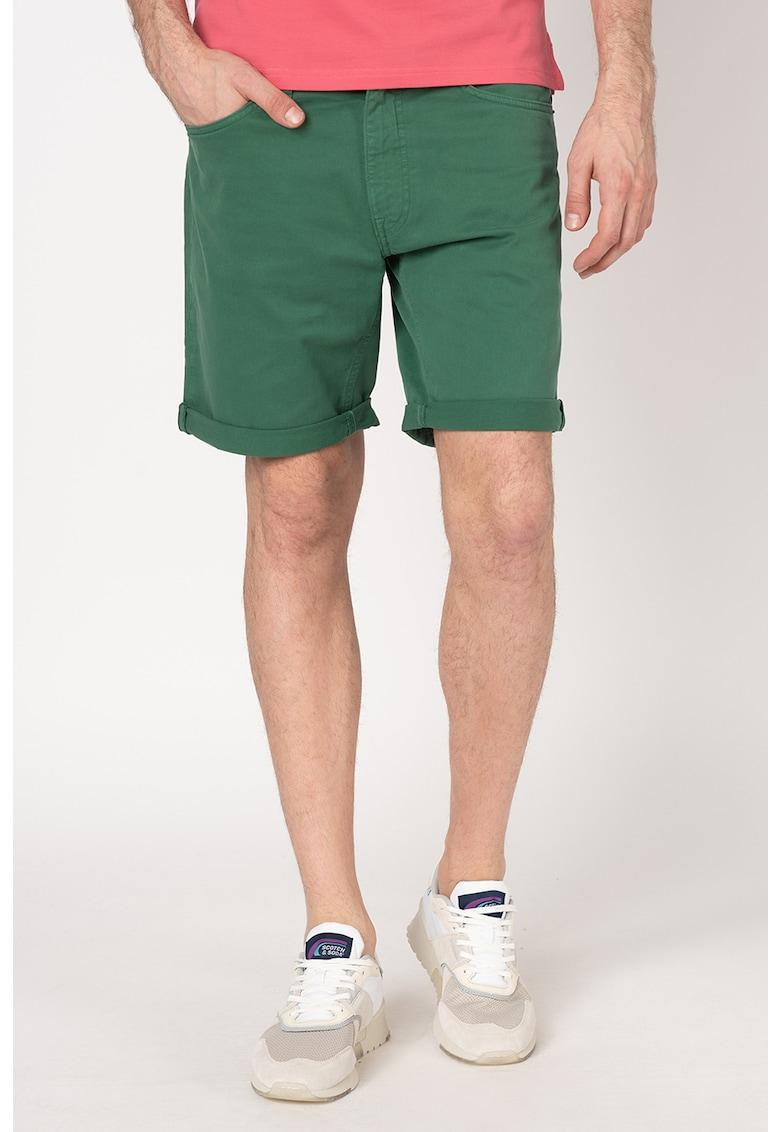 Pantaloni scurti din denim - cu talie medie