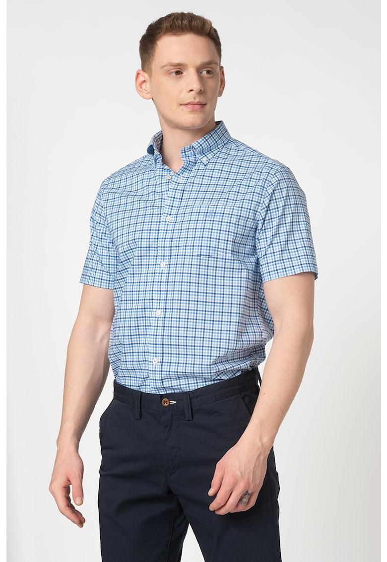 Camasa regular fit cu maneci scurte Bărbați imagine