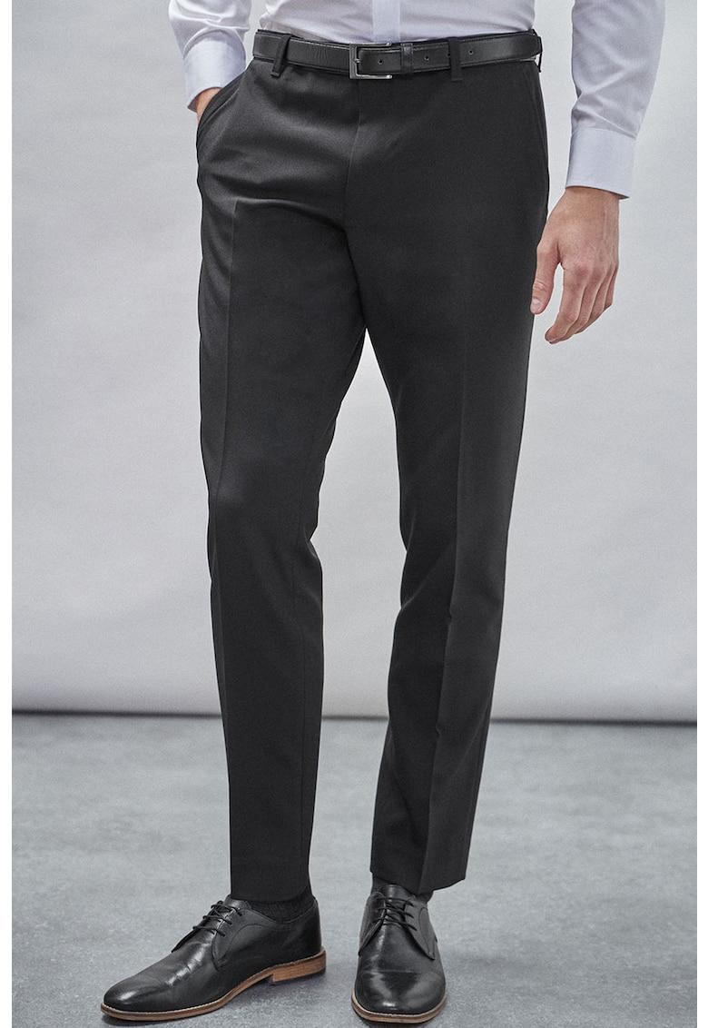 Pantaloni slim fit cu o curea thumbnail