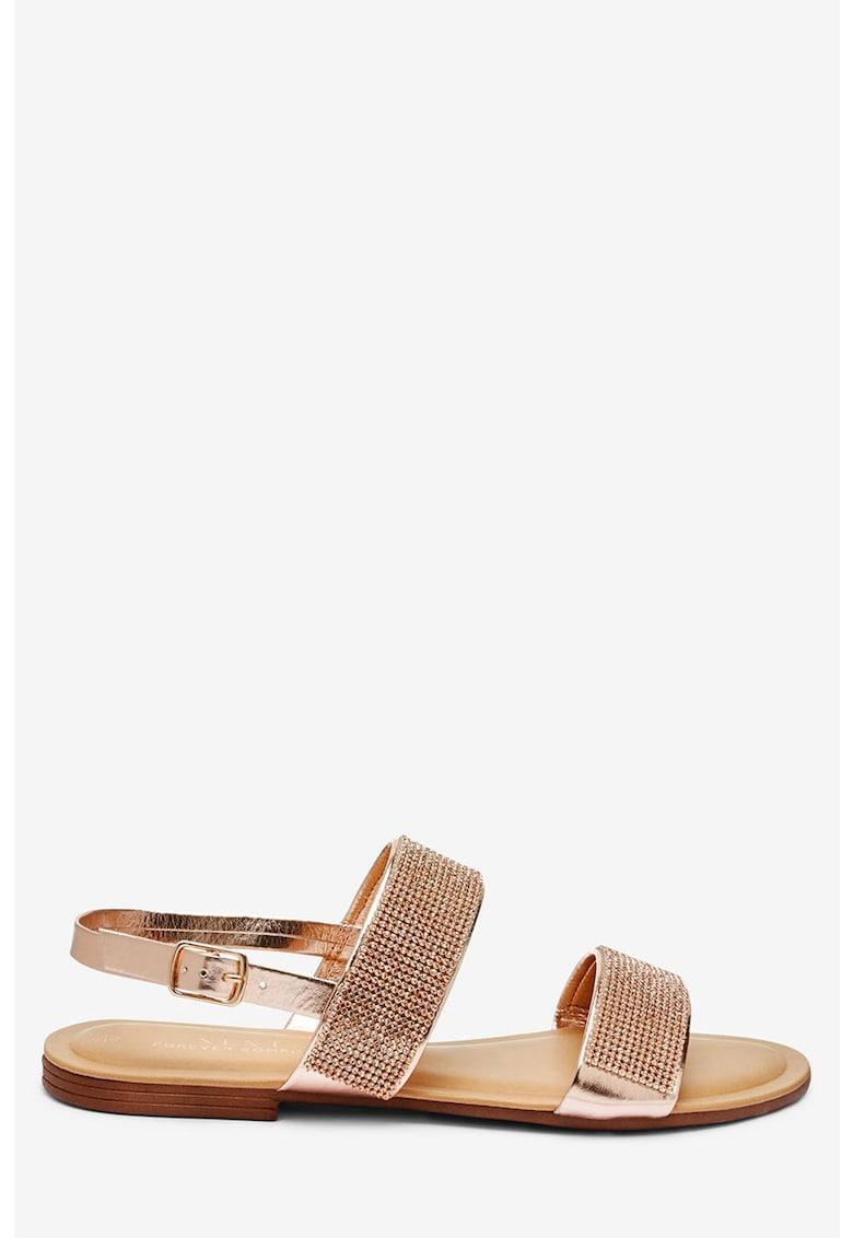 Sandale slingback cu strasuri thumbnail