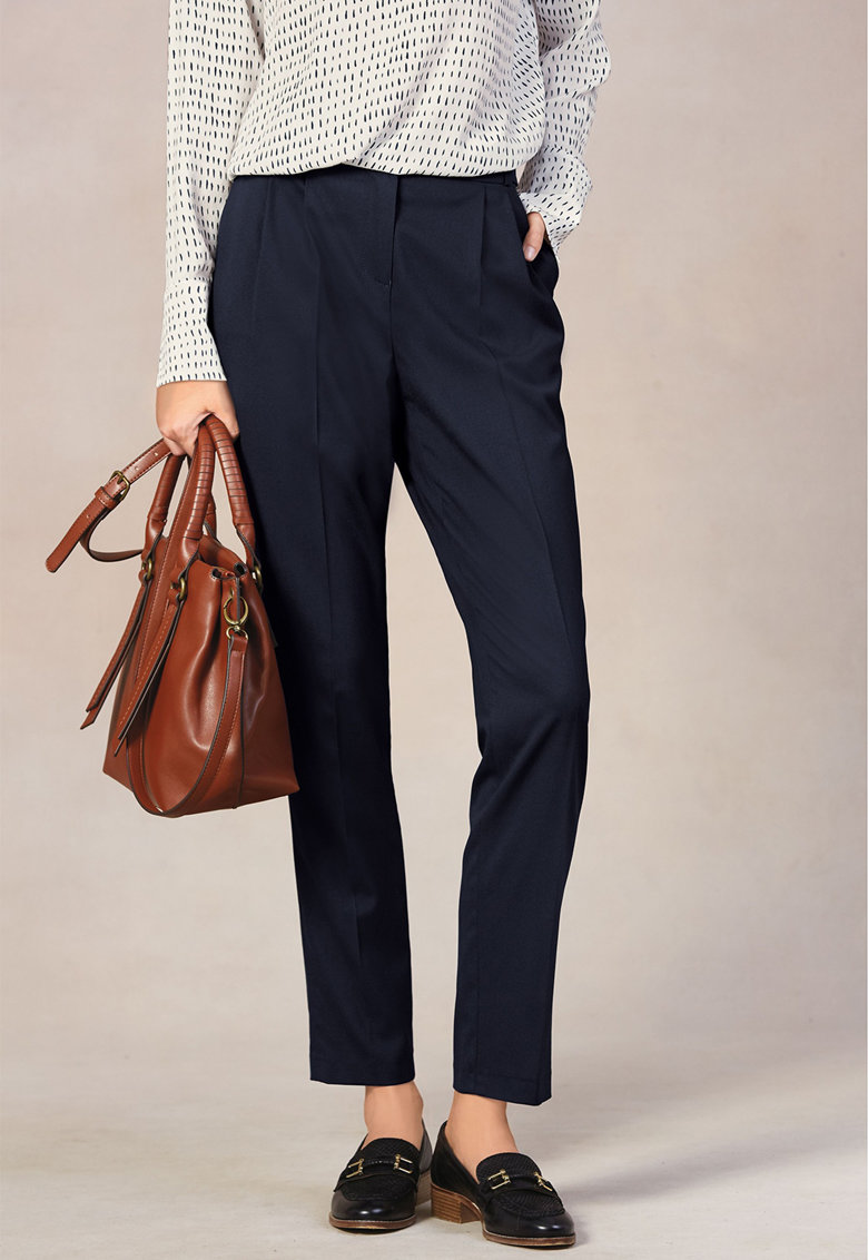 Pantaloni cu croiala conica imagine fashiondays.ro