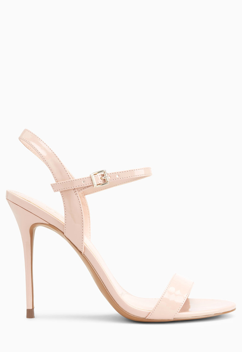 Sandale din piele ecologica - cu toc stiletto thumbnail
