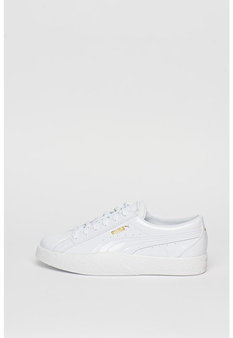 Pantofi sport cu aspect lacuit Love Patent