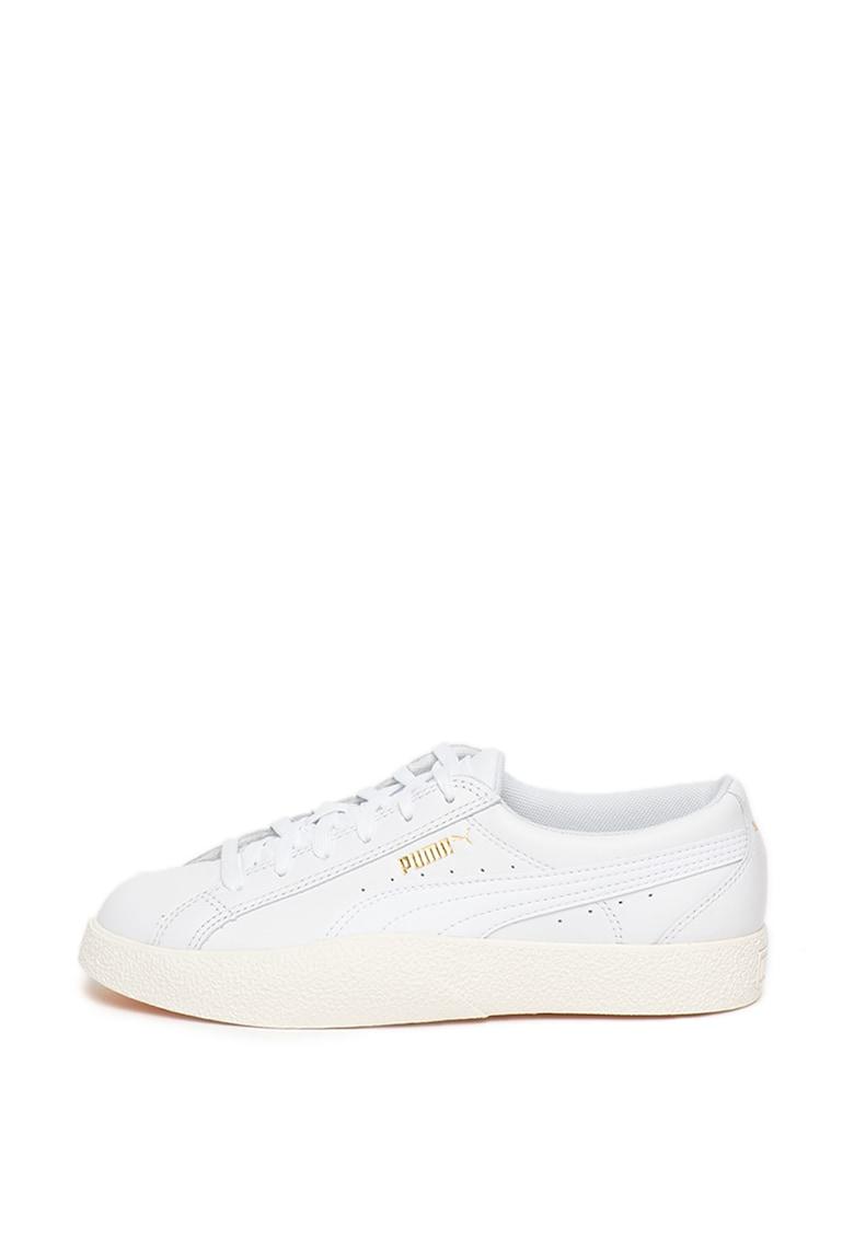 Pantofi sport de piele si piele ecologica Love