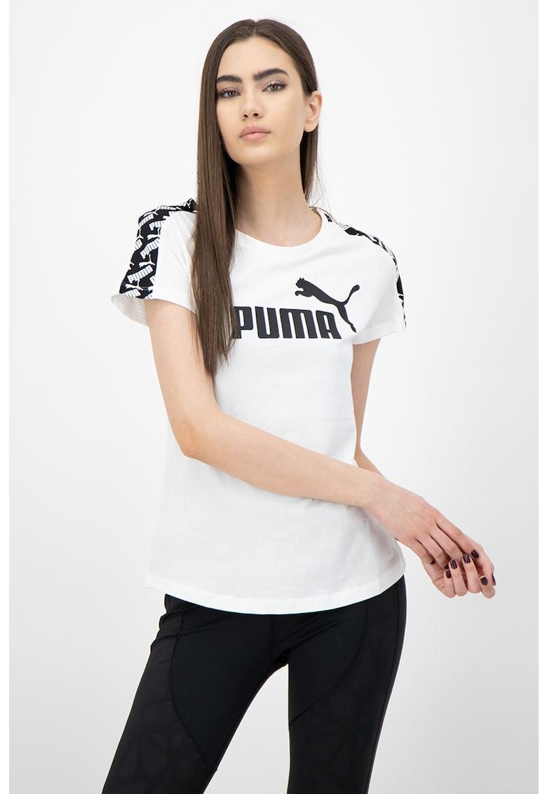 Tricou cu imprimeu logo Amplified imagine fashiondays.ro