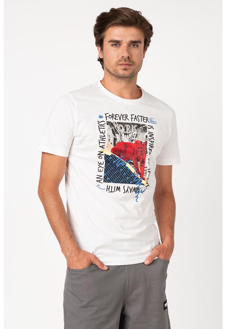 Tricou regular fit cu imprimeuri diverse Bărbați imagine