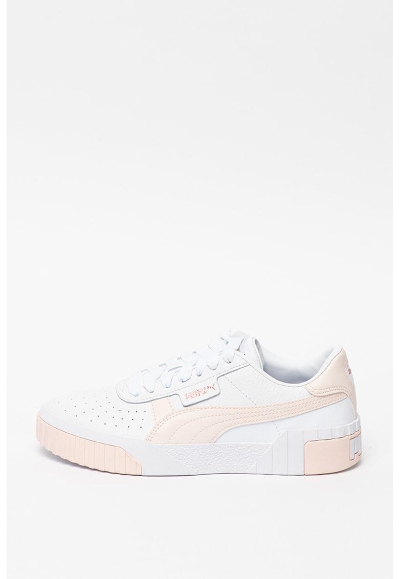 Pantofi sport din piele cu garnituri din piele ecologica Cali