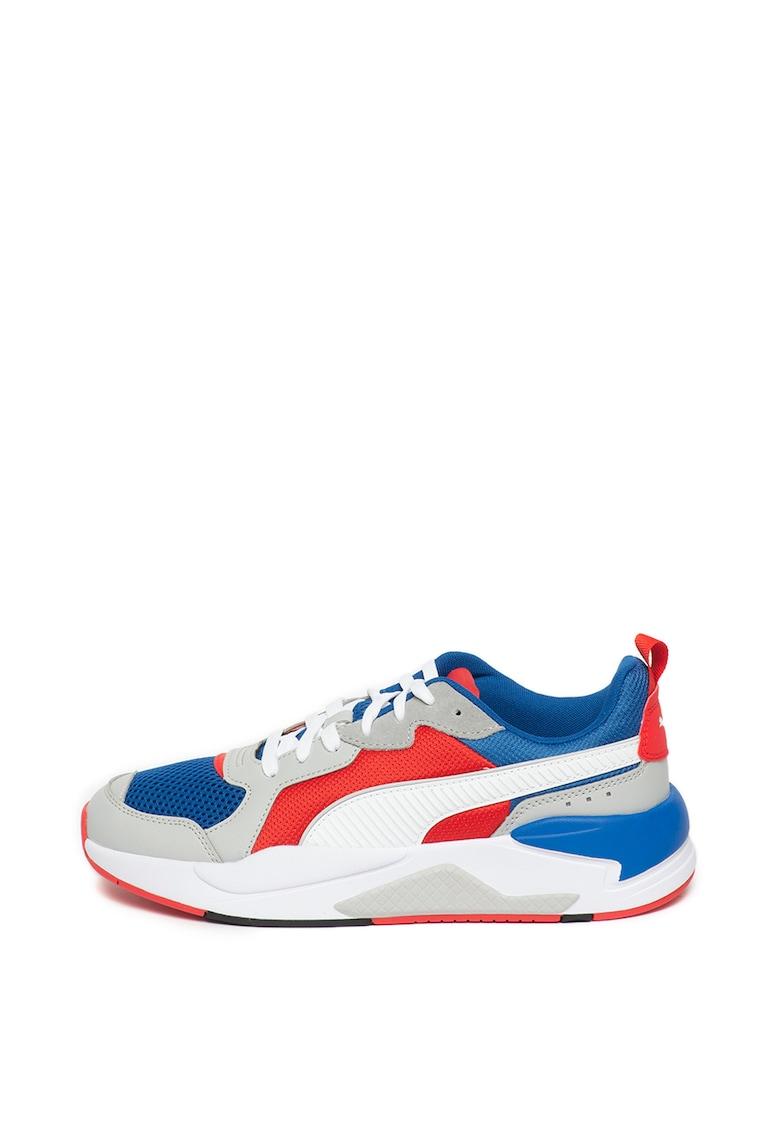 Pantofi sport unisex cu amortizare si model colorblock X-Ray imagine