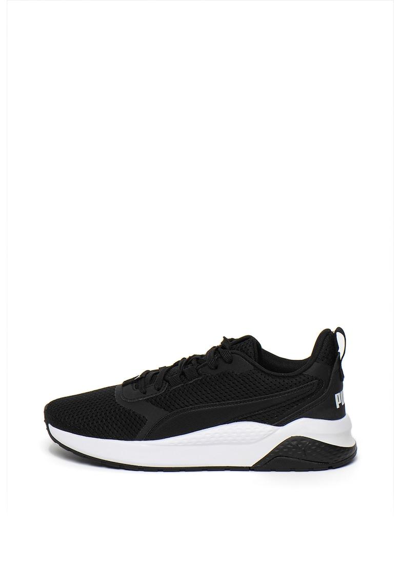 Pantofi sport cu garnituri din piele ecologica Anzarun