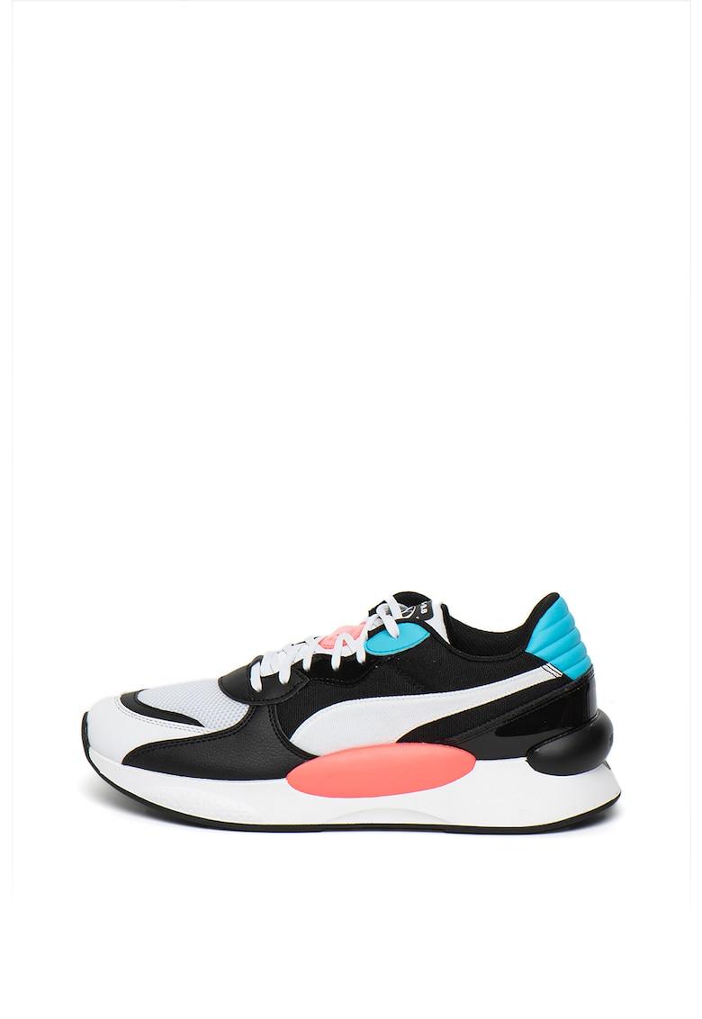 Pantofi sport cu insertii din piele ecologica RS 9.8 Fresh imagine