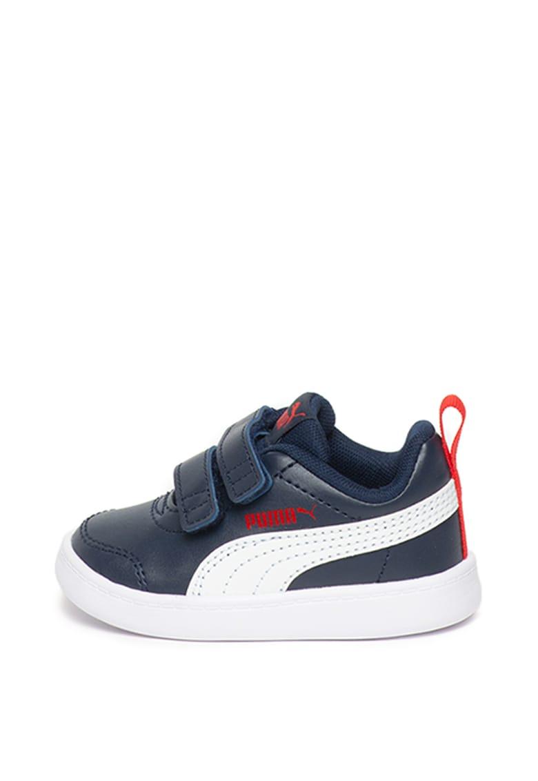 Pantofi sport de piele ecologica Courtflex v2