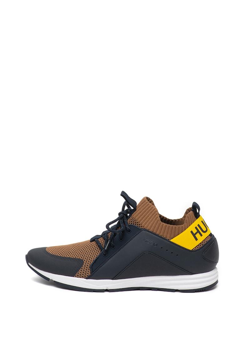 Pantofi sport slip-on cu insertii din material textil Hybrid