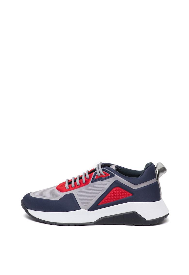 Pantofi sport cu model colorblock Atom