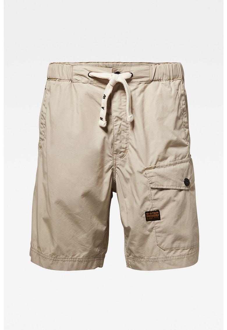 Pantaloni scurti cargo cu snur in talie Originals