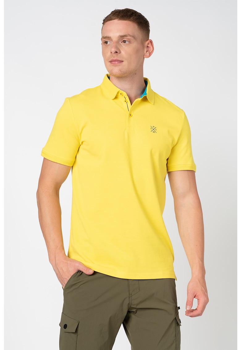 Tricou polo regular fit imagine fashiondays.ro