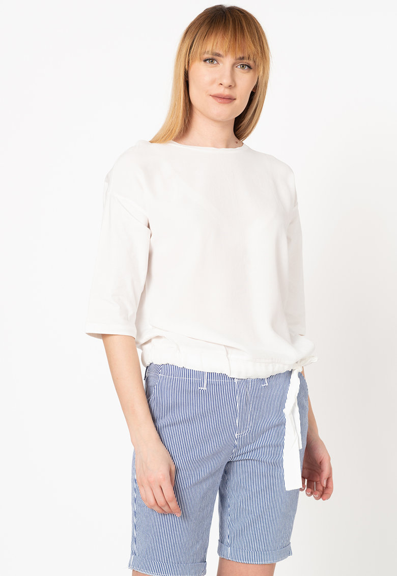 Bluza lejera cu maneci cazute Tom-Tailor imagine 2021