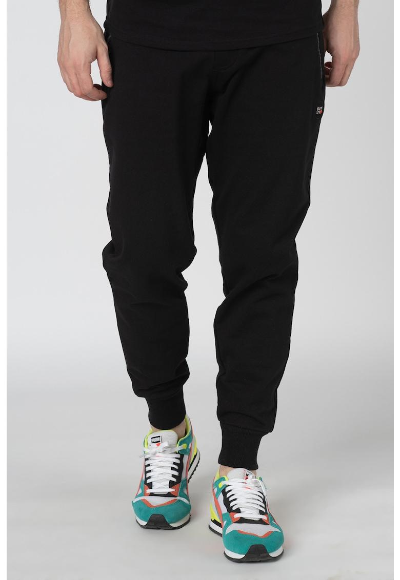 Pantaloni sport cu snur elastic Collective