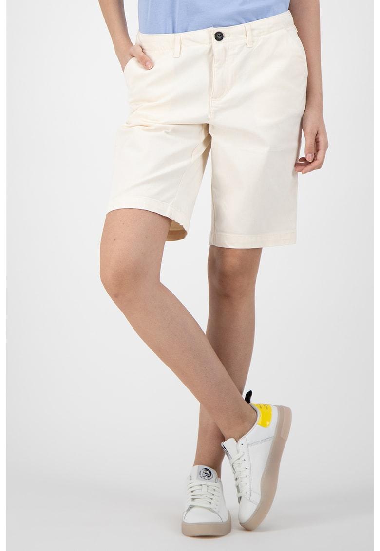 Pantaloni scurti din bumbac cu model in dungi