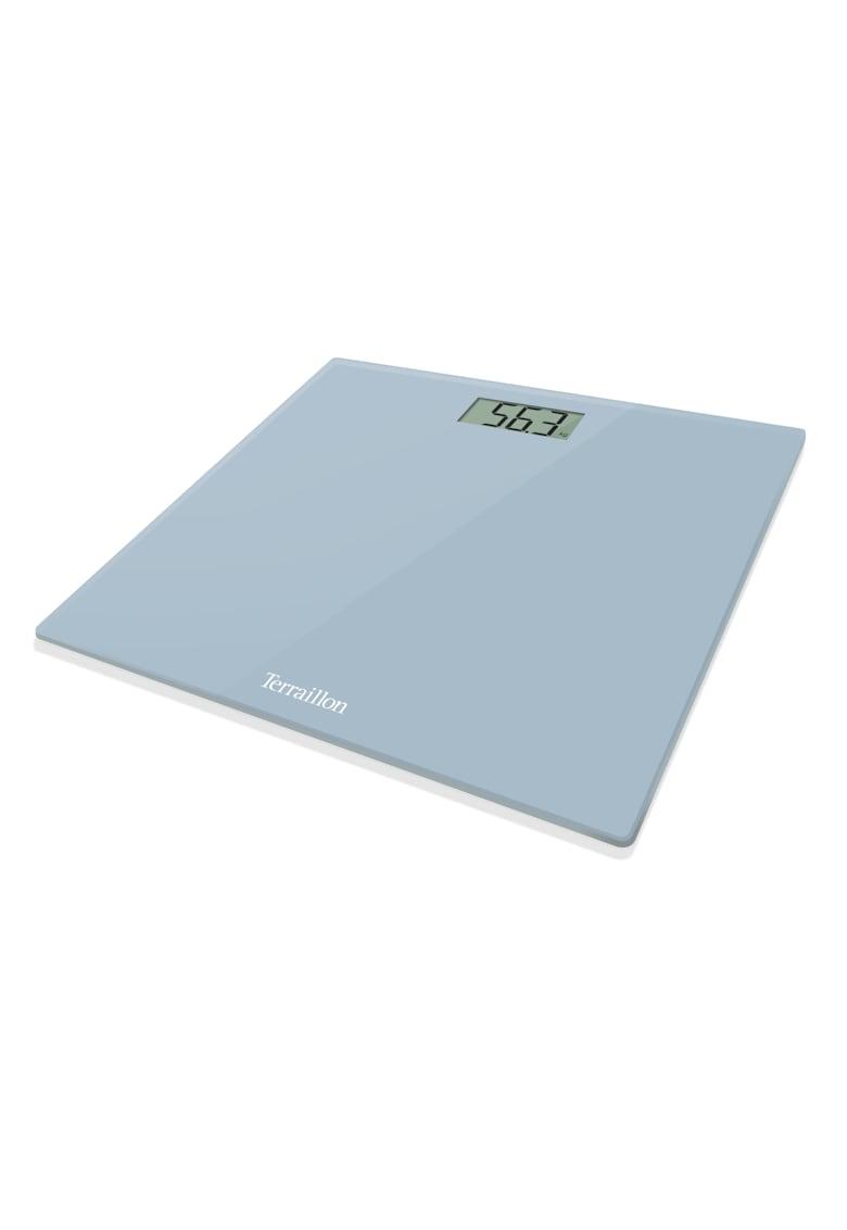 Terraillon Cantar electronic de persoane  160 kg - LCD - Albastru deschis