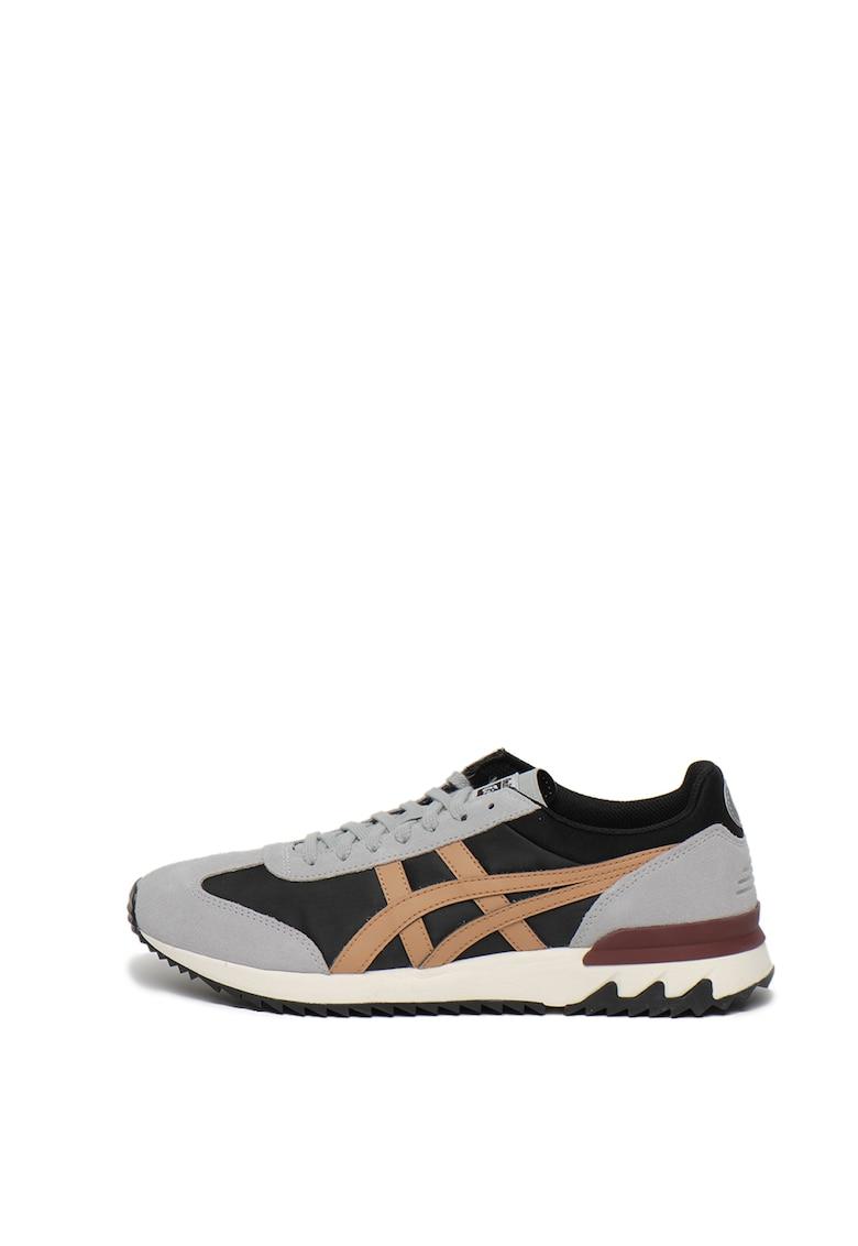 Pantofi sport cu insertii de piele intoarsa California 1