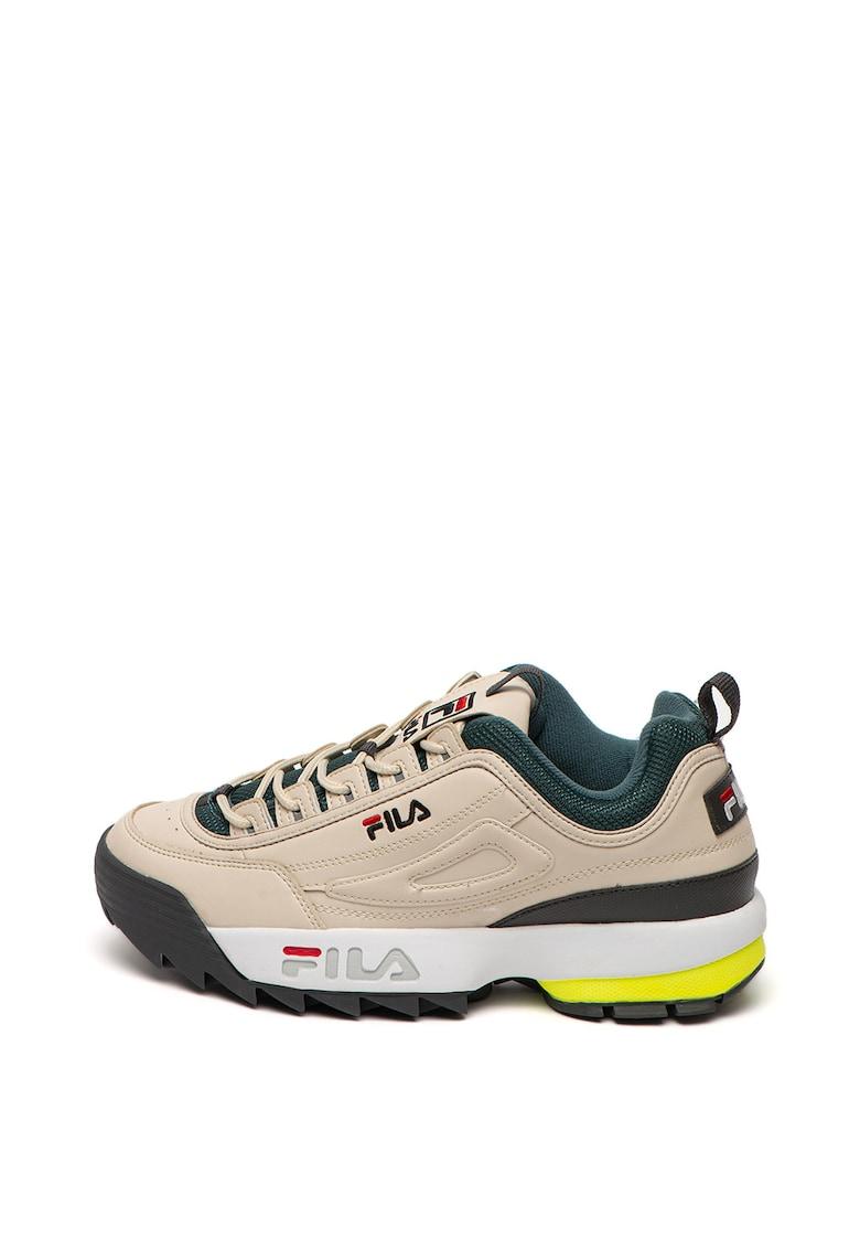 Pantofi sport cu insertii de material textil Disruptor Low