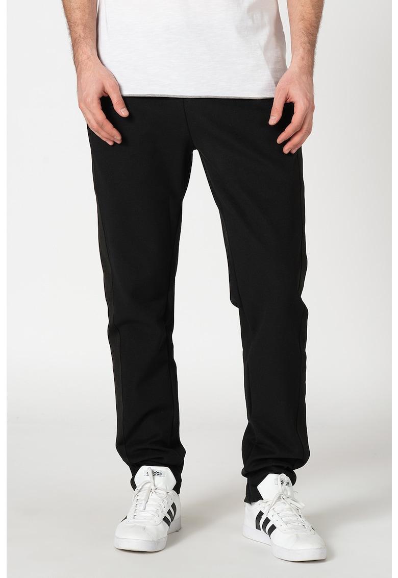 Pantaloni sport cu garnituri laterale decorative de la GUESS JEANS