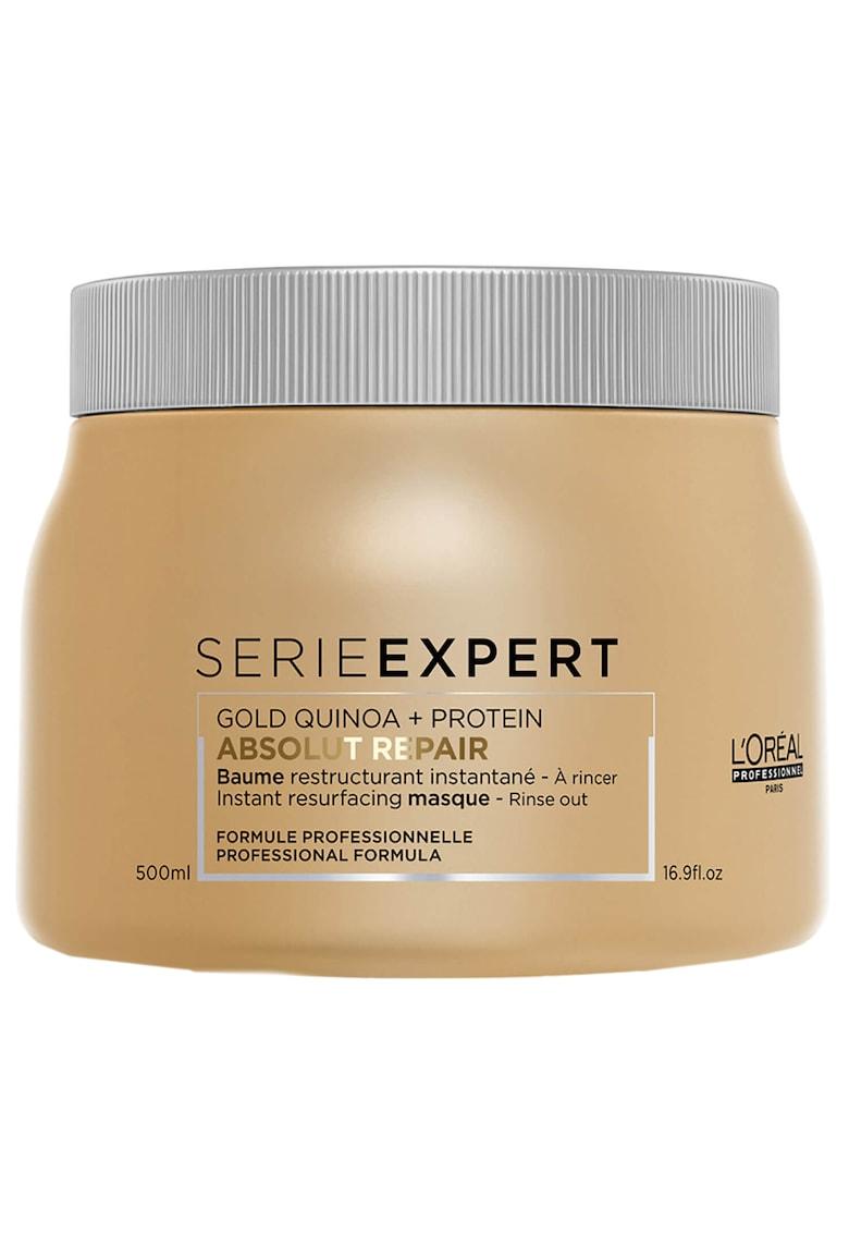 Masca de par Serie Expert Absolut Repair Classic Gold Quinoa pentru par foarte deteriorat - 500 ml
