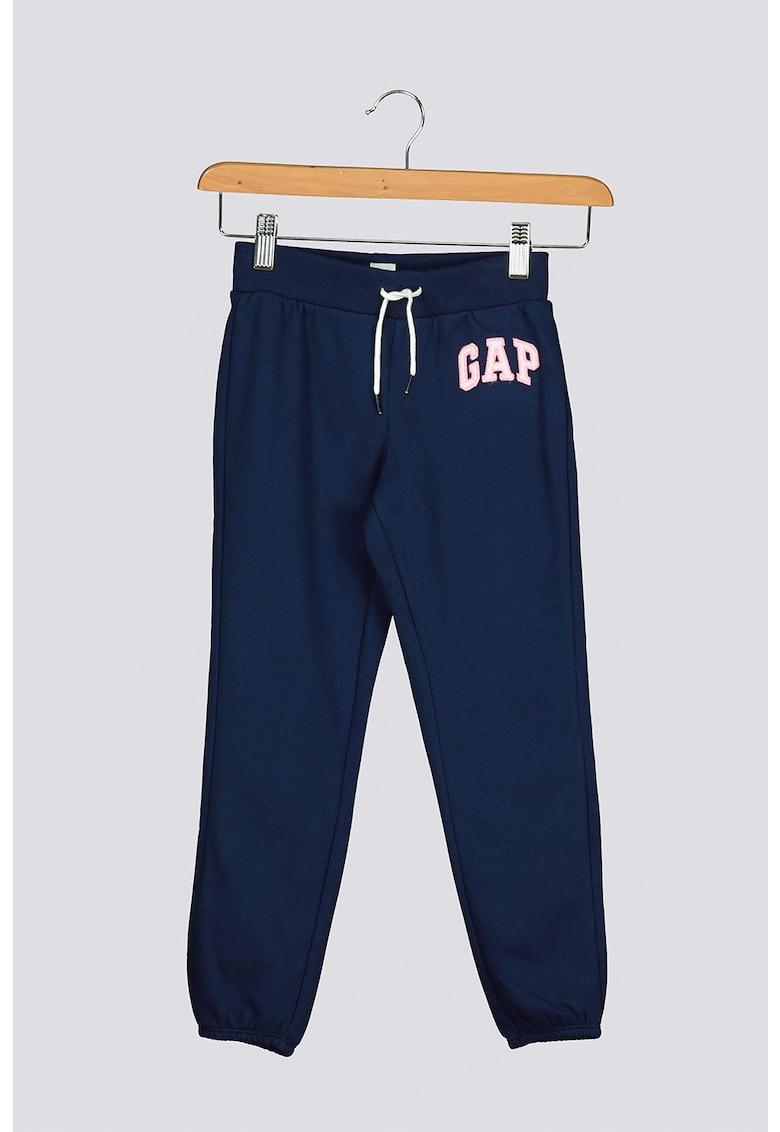 Pantaloni sport cu snur elastic 24 GAP fashiondays.ro