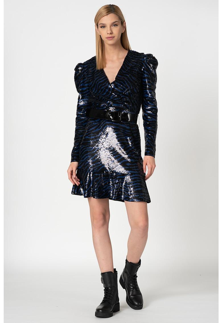 Rochie decorata cu paiete