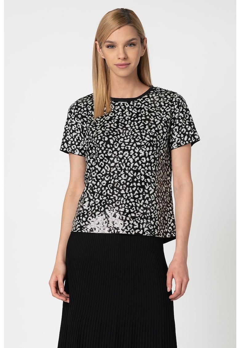 Bluza decorata cu paiete