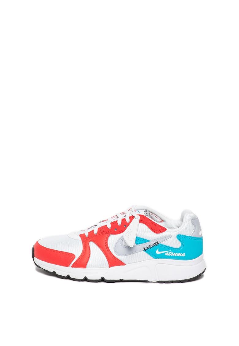 Pantofi sport cu garnituri de piele Atsuma