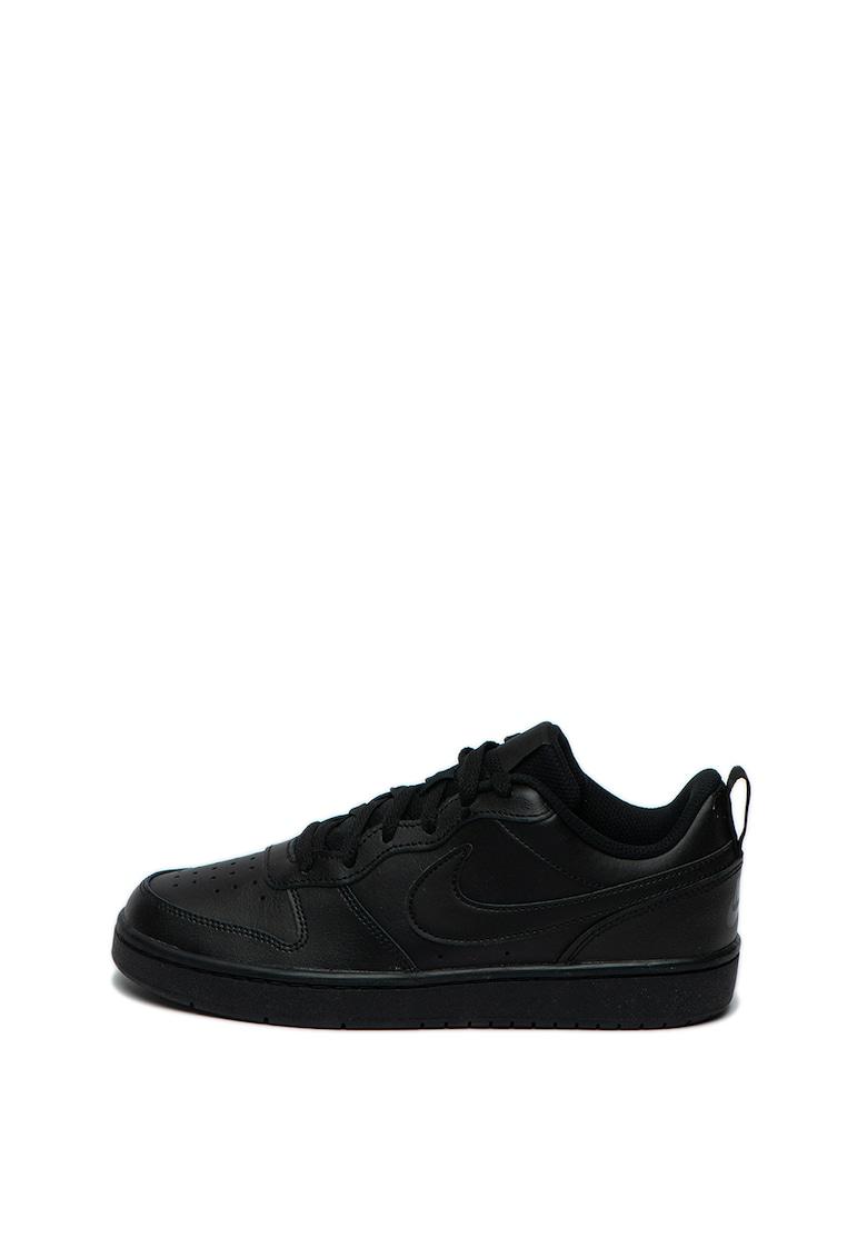 Pantofi sport de piele cu perforatii Court Borough
