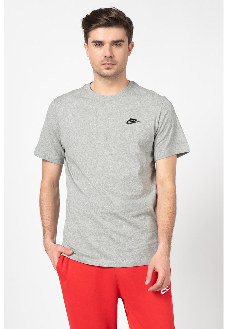 Tricou cu decolteu la baza gatului Sportswear Club imagine