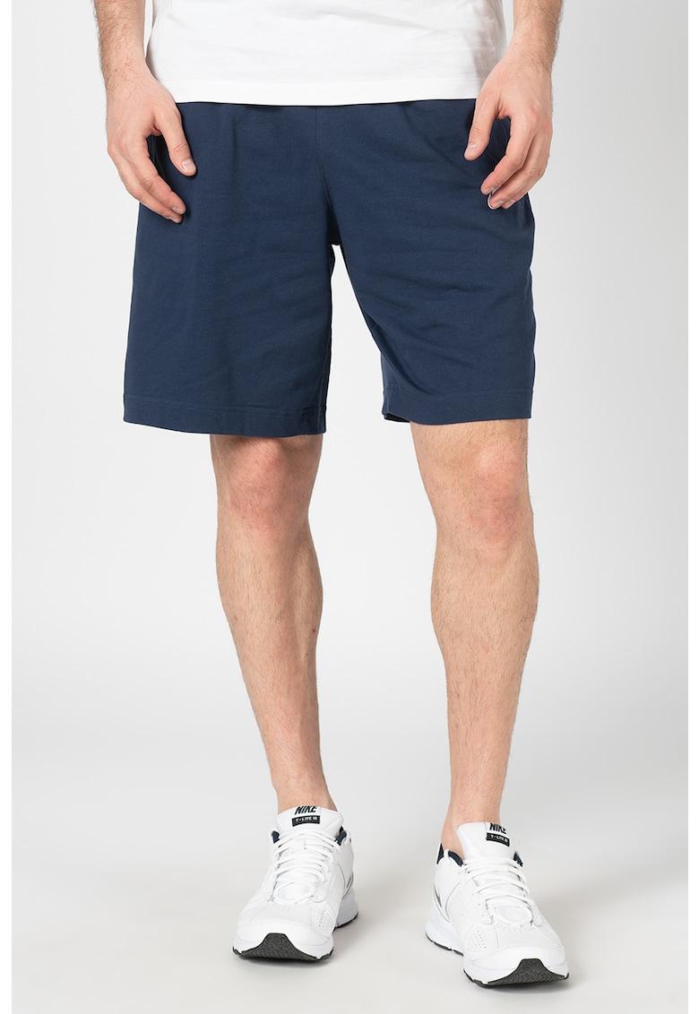 Pantaloni din jerseu cu logo Club imagine fashiondays.ro
