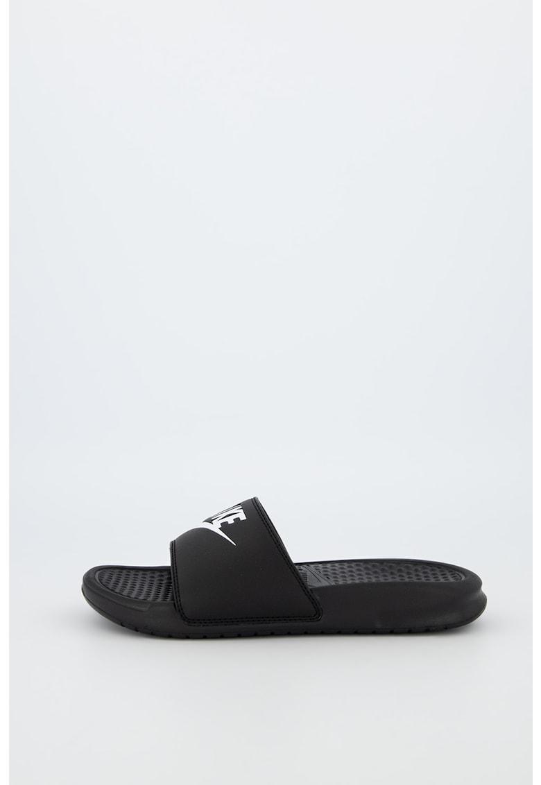 Papuci cu logo Benassi