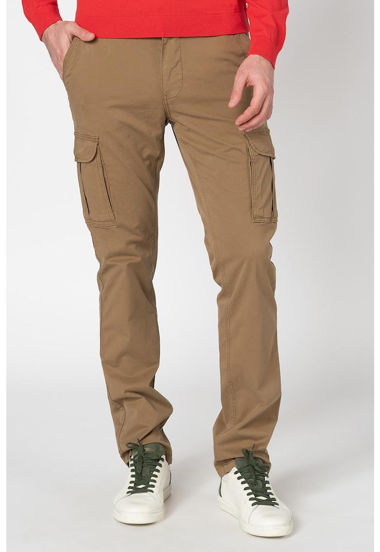 Pantaloni cargo slim fit Moto