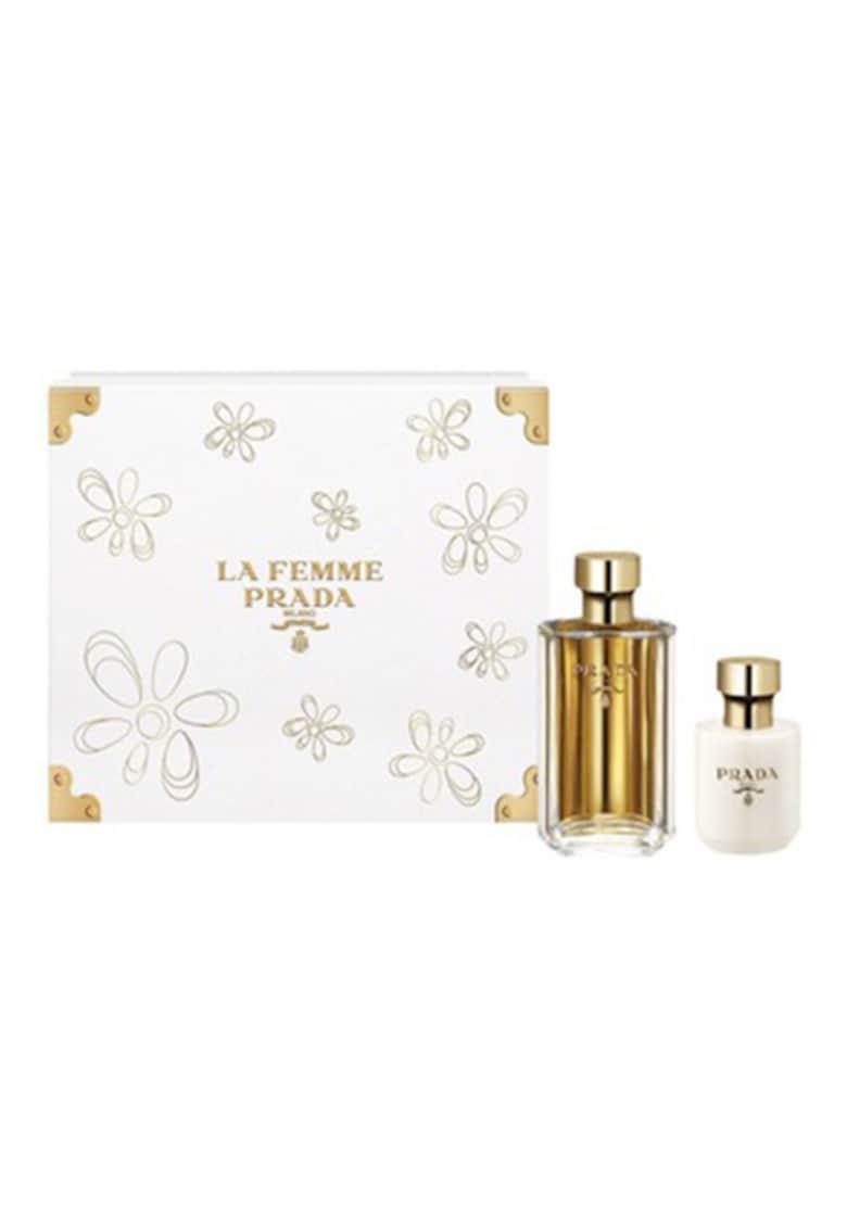 Set La Femme - femei: Apa de Parfum - 100 ml + Lotiune de corp - 100 ml imagine promotie