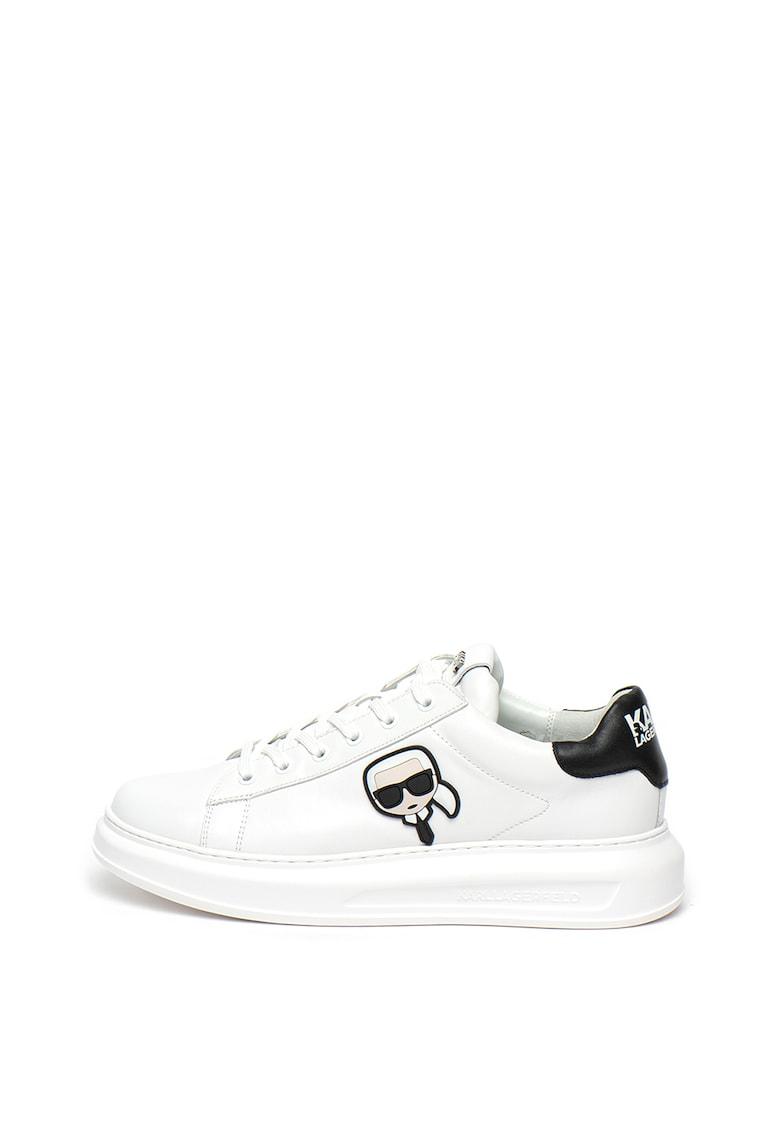 Pantofi sport din piele cu logo stantat Kapri imagine fashiondays.ro