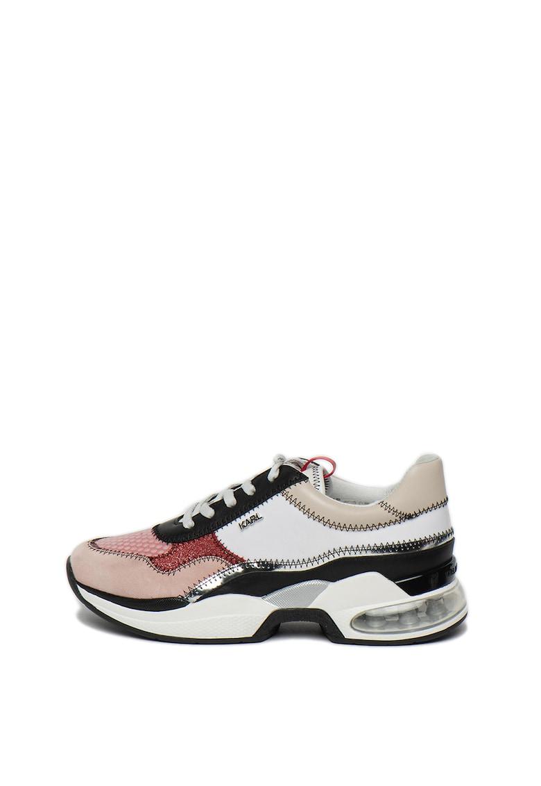 Pantofi sport cu model colorblock Ventura