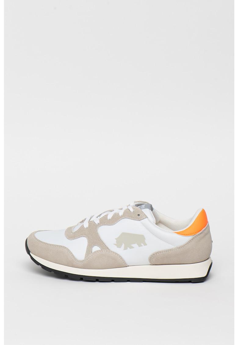 Pantofi sport cu insertii de piele intoarsa Maxton